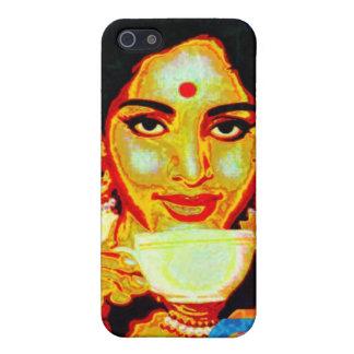 Señora de Chai iPhone 5 Carcasas