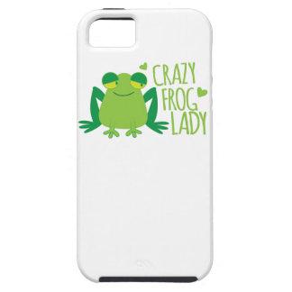 Señora de Crazy Frog iPhone 5 Funda