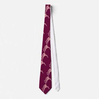 Señora de elevación corbatas personalizadas