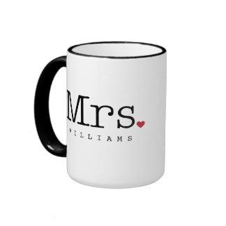 Señora de encargo taza de café el | negro, blanco,