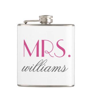 Señora de encargo Wedding Flask el | Novia-a-Es re