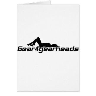 Señora de Gear4gearheads Tarjeta De Felicitación