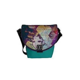 Señora de Geode en bolso del espacio Bolsa Messenger