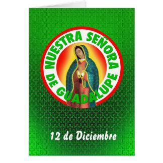 Señora de Guadalupe Card