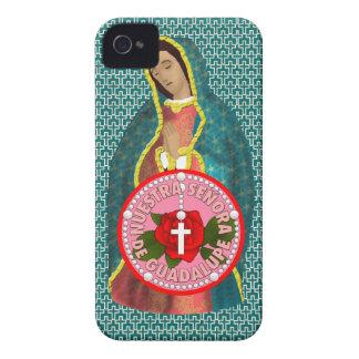 Señora de Guadalupe iPhone 4 Case-Mate Cases