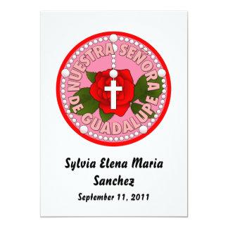 Señora de Guadalupe invite