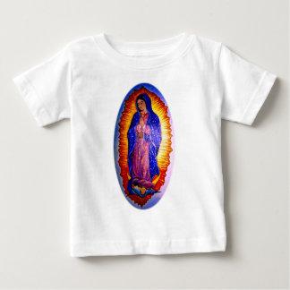 Señora de Guadalupe Playera De Bebé