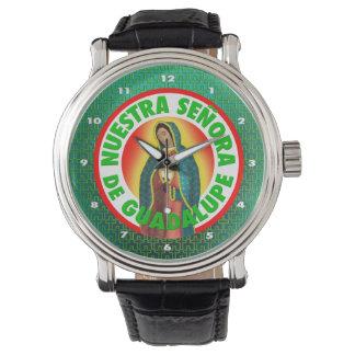 Señora De Guadalupe Wrist Watches