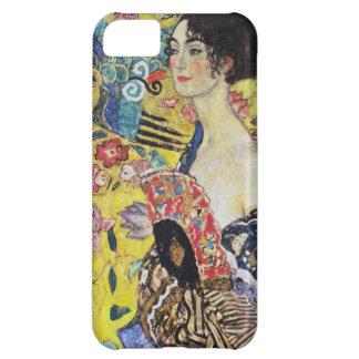 Señora de Gustavo Klimt con la fan