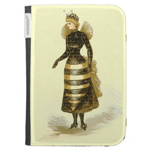 Señora de la abeja del vintage