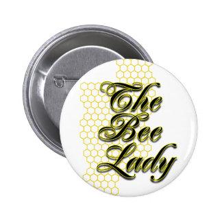 señora de la abeja pin