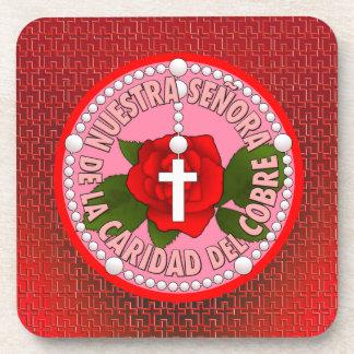 Señora De La Caridad Del Cobre Beverage Coaster