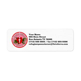 Señora De La Caridad Del Cobre Label
