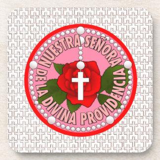 Señora De La Divina Providencia Drink Coaster