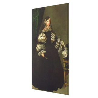 Señora de la familia de Medinaceli, c.1683 Impresión En Lienzo Estirada
