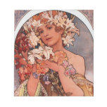 Señora de la flor blanca - Mucha Bloc