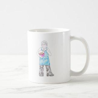 Señora de la hornada tazas