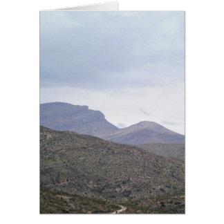 Señora de la montaña Alamogordo New México Tarjetas