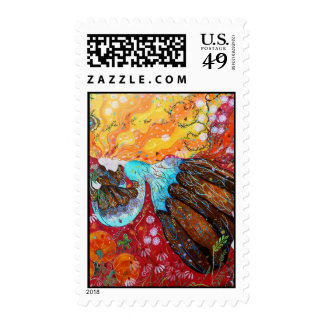Señora de la naturaleza y las estaciones del año sellos
