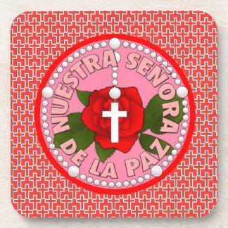 Señora de la Paz Beverage Coaster