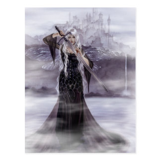 Señora de la postal de Avalon
