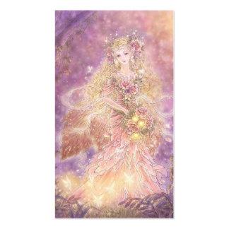 Señora de la tarjeta de visita del arte de la fant