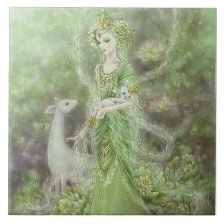 Señora de la teja de la compasión