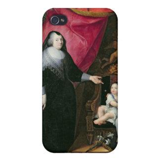 Señora de Lansac y los niños de Francia iPhone 4 Cobertura