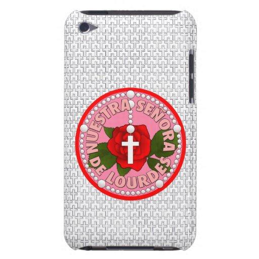 Señora De Lourdes iPod Case-Mate Cases