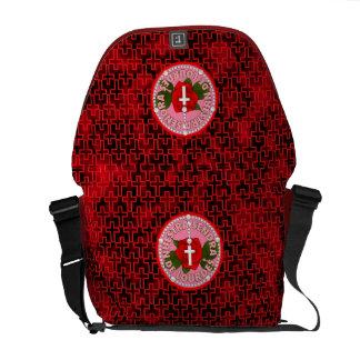 Señora De Lourdes Courier Bags