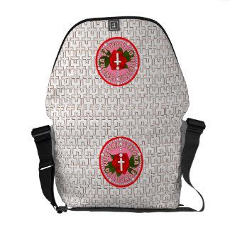 Señora De Lourdes Messenger Bags