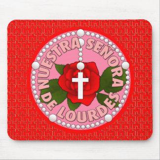Señora de Lourdes Mousepad