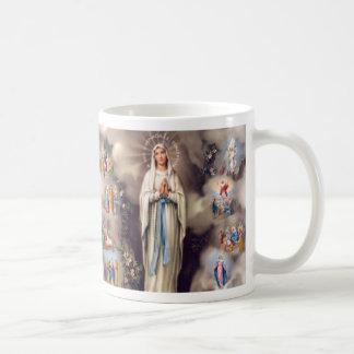 Señora de Lourdes Taza De Café