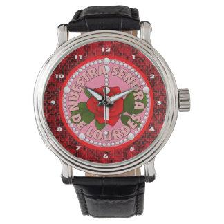 Señora De Lourdes Wrist Watch