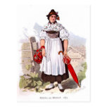 Señora de Munich, 1873 Postales