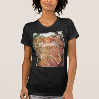 Señora de Nouveau del arte del ensueño del ensueño Camiseta