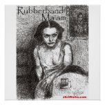 Señora de Rubberband Impresiones