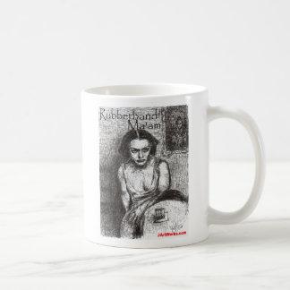 Señora de Rubberband Taza De Café