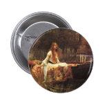 Señora de Shalott por el Waterhouse de Juan Pin