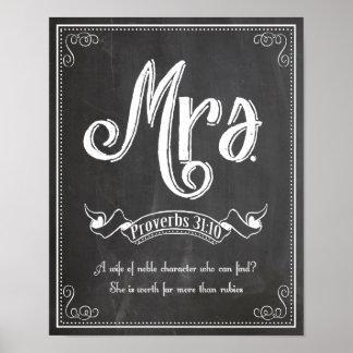 Señora de Sr. y de la señora serie Posters