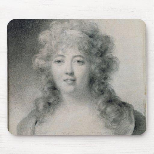 Señora de Stael 1810 Alfombrillas De Ratón