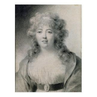 Señora de Stael 1810 Tarjeta Postal