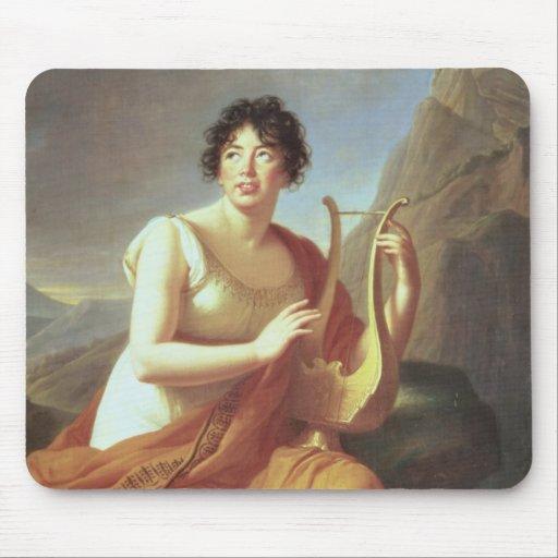 Señora de Stael como Corinne, 1809 Tapete De Ratón