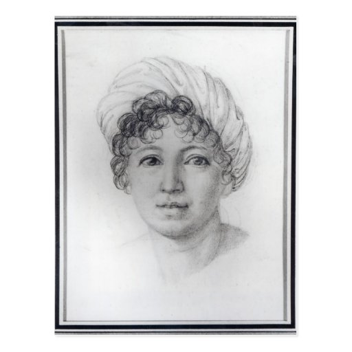 Señora de Stael Tarjeta Postal