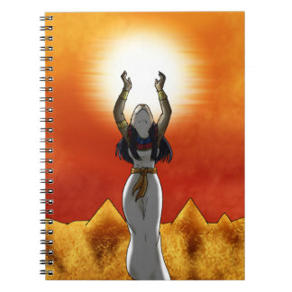 Señora de Sun Sekhmet Note Book