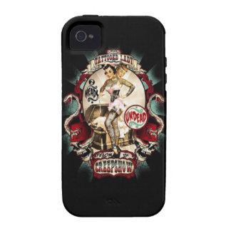 Señora de Tattoed Case-Mate iPhone 4 Fundas