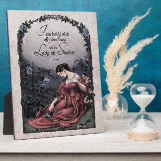 Señora de Tennyson de la placa del arte del Victor