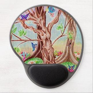 Señora del árbol de Amare del recuerdo Alfombrillas De Raton Con Gel