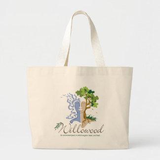 Señora del árbol de Willowood Bolsa Tela Grande