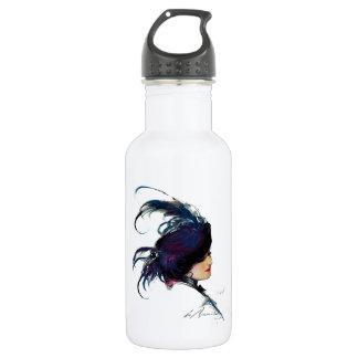 Señora del Azul-pájaro del duende malicioso